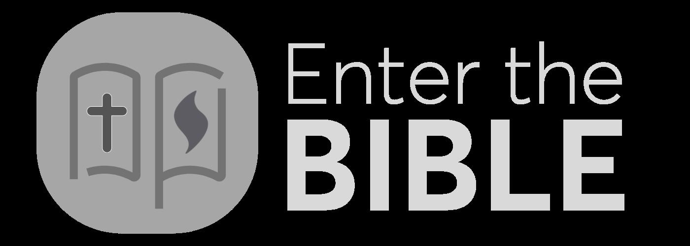 Enter the bible BW logo