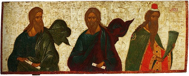 icon with Nathan, Haggai, and Samuel