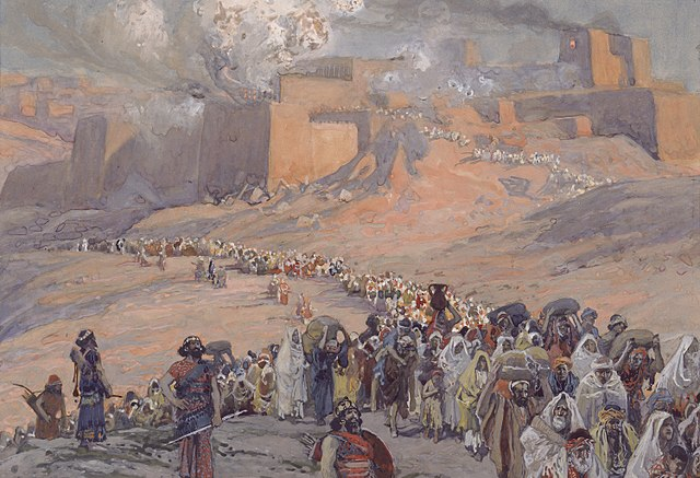 The Flight of the Prisoners (1896) by James Tissot