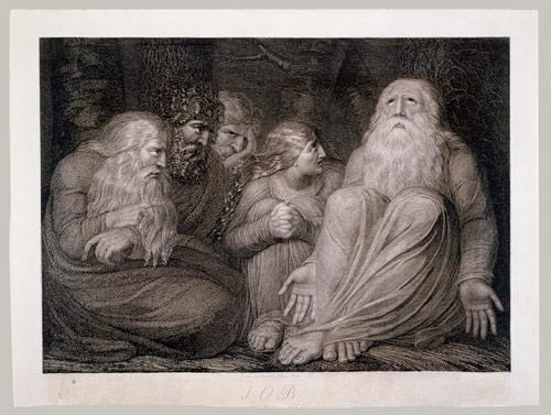 Job's Tormentors by Blake