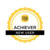 New User badge