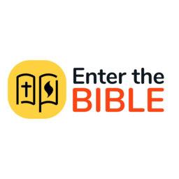 Enter the Bible podcast logo